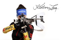 FINNLO supports Biathlete Kathrin Lang on her way to Worldcup