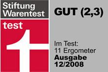 Stiftung Warentest tests FINNLO Exum XT ergometer